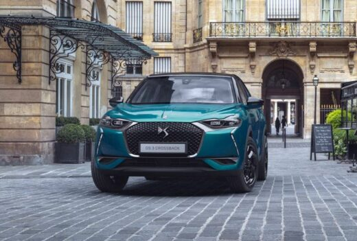 Lease DS DS 3 Crossback - E-Tense 50 kWh Business 5D
