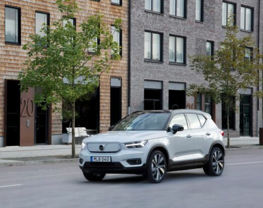 Lease Volvo XC40 5-drs Recharge - 78kWh ev p8 pure electric R-Design 300kW awd aut.